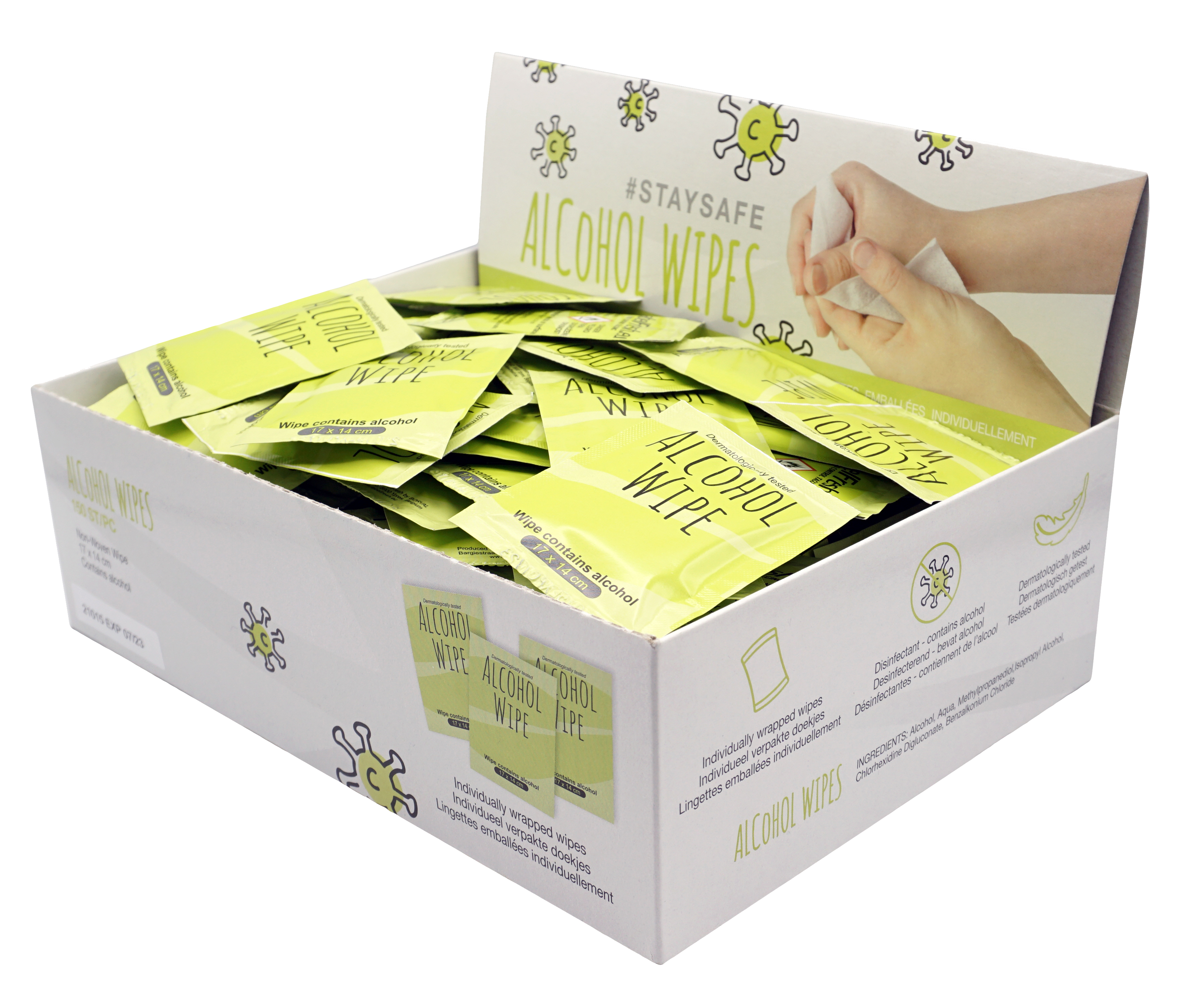 LabelFresh Alcohol Wipes